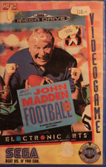 John Madden Football 93 Rental from HENT