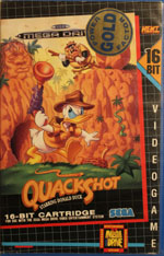 QuackShot starring Donald Duck Rental from HENT