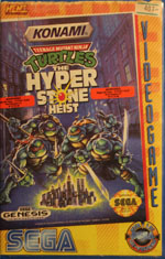 Teenage Mutant Hero Turtles - The Hyperstone Heist Rental from HENT