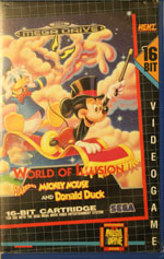 World of Illusion starring Mickey Mouse and Donald Duck Rental from HENT